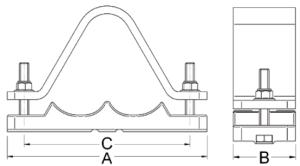 BICON-Prysmian-Aluminium-Orion-Cable-Cleat-376-TR-376-TE-Series1