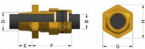 A2EX(NPT) Ex d IIC - Ex e II Cable Gland 494NE Series technical