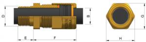 A2EX Ex d IIC - Ex e II Cable Gland Kit (LSOH) KCH494 Series technical