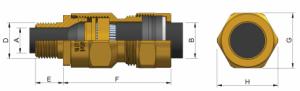 E1W-XL (NPT) Ex d IIC - Ex e II Cable Gland 474NP Series technical