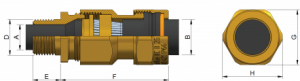 E1WF Ex d IIC - Ex e II Cable Gland Kit (PVC) KCA472 Series technical
