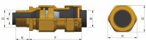 E1WF (NPT) Ex d IIC - Ex e II Cable Gland 472NP Series technical