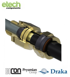 Prysmian BICONE1XF Ex d IIC / Ex e II Cable Gland Kit (PCP) KA473 Series