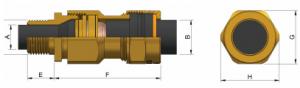E1XF Ex d IIC - Ex e II Cable Gland Kit (PVC) KCA473 Series technical