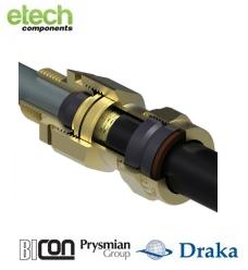 Prysmian BICONE1XF (NPT) Ex d IIC / Ex e II Cable Gland 473NP Series