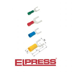 Elpress-Pre-Insulated-Fork-Terminals-Halogen-Free