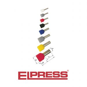 Elpress-Pre-Insulated-TWIN-End-Terminals-ET2-Halogen-Free