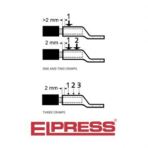 Elpress-TB--KB-Crimp-Dies-Hexagonal-Crimping-Copper-Tube-Terminals-Cu