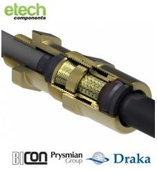 Prysmian BICONExcel Plus (NPT) Ex d IIC / Ex e II Deluge Proof Cable Gland 493NE Series