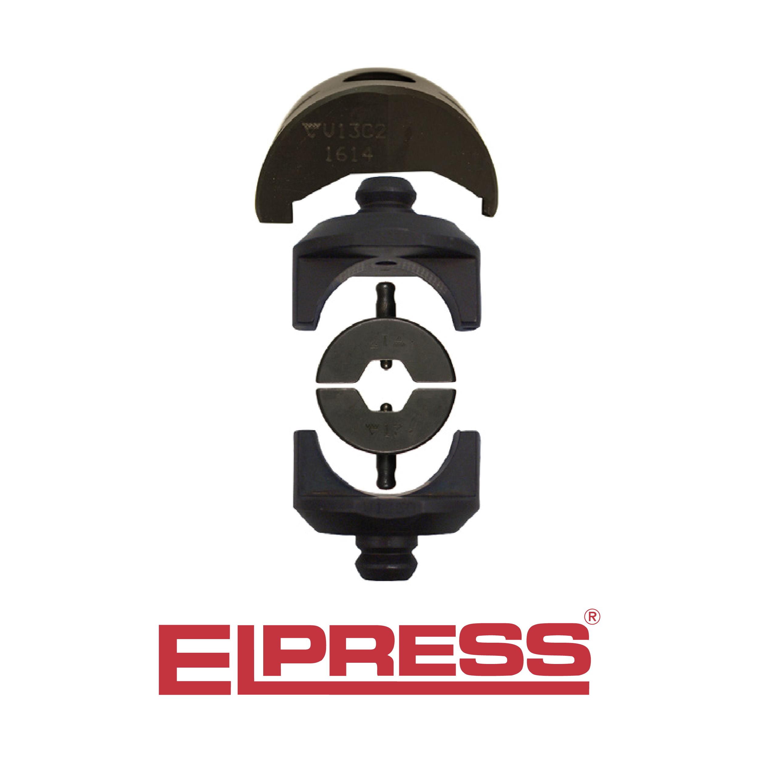 Elpress-Die-Holder-V1330-B-Dies-Set-Pair-Used-With-Die-Holder-V13C2