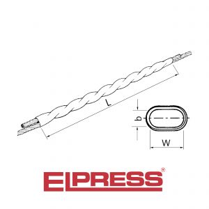 Elpress-Twist-Connectors-For-Aluminium-Wires-Al-Overhead-Line-Connectors