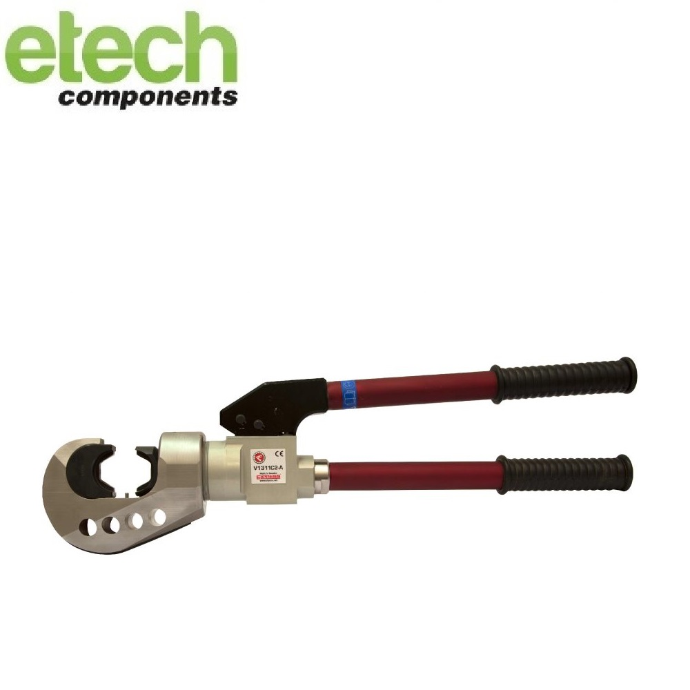 Elpress Crimp Tool V1311C2-A Hydraulic Handtool for Cu (Range 10-400mm²) and C-sleeves up to 120 mm²