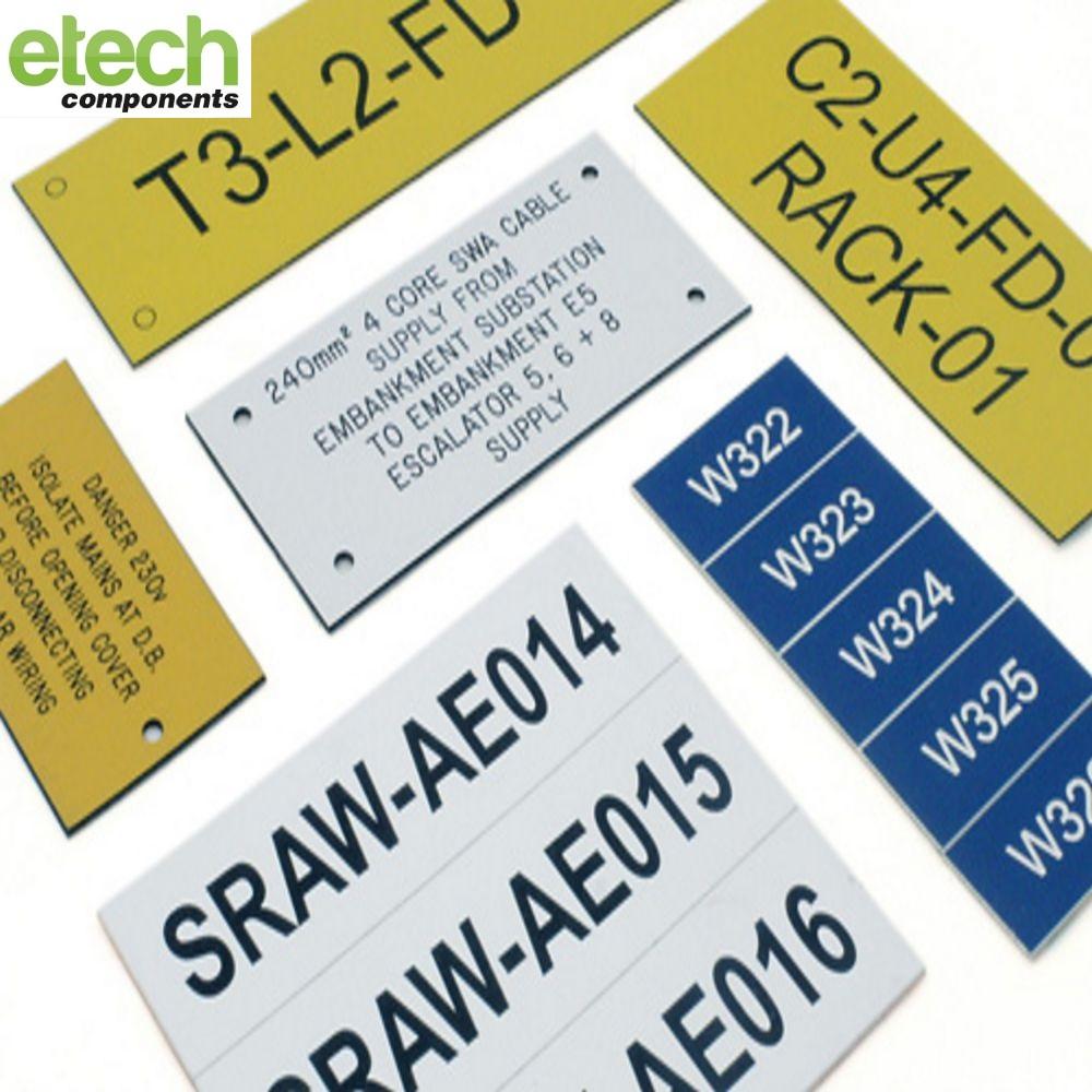 Endurance Laser Engraved Labels