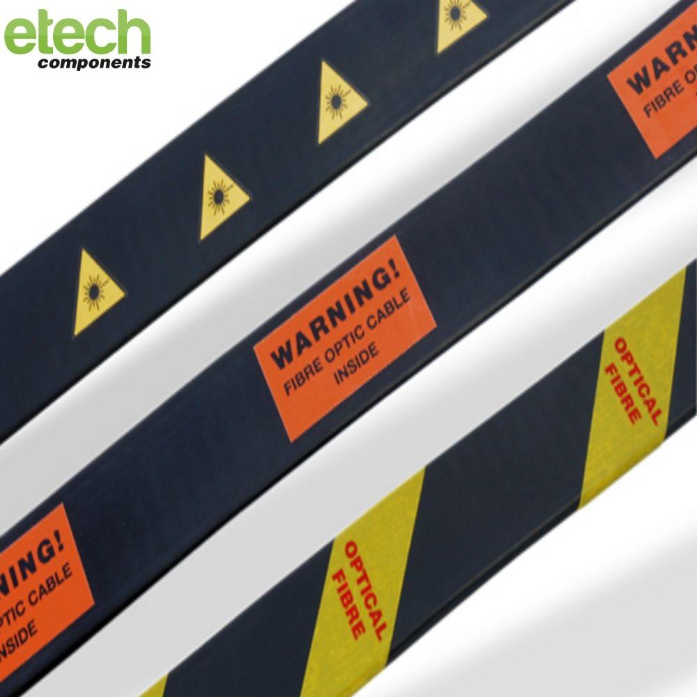 Optical Fibre Warning Labels