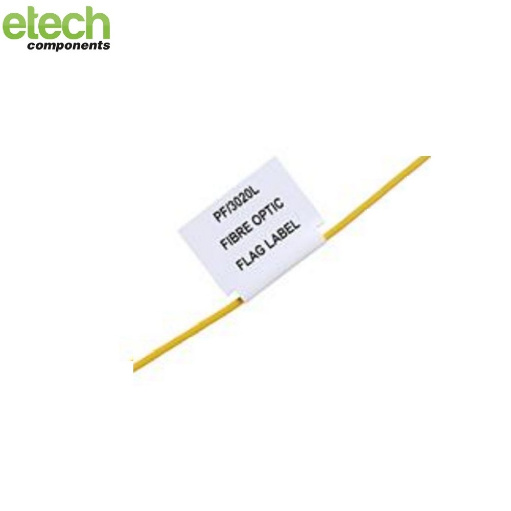 Prolab Optical Fibre Flag Laser Labels1