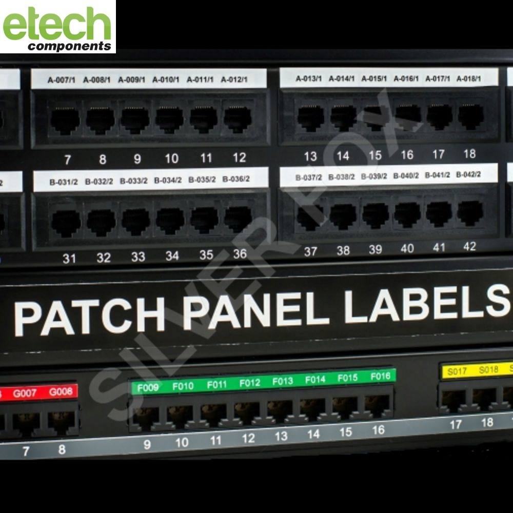 Prolab Patch Panel Laser Labels 1
