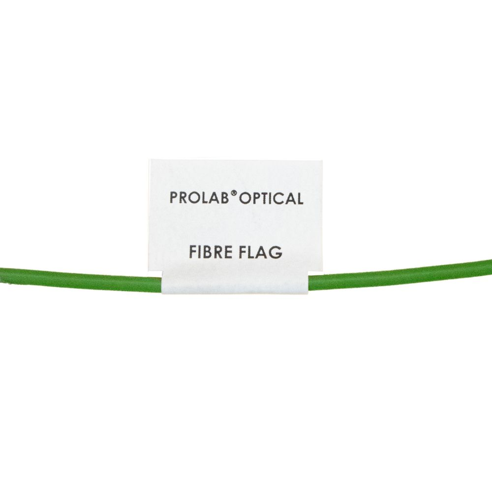 Silver Fox Prolab Optical Fibre Flag Laser Labels