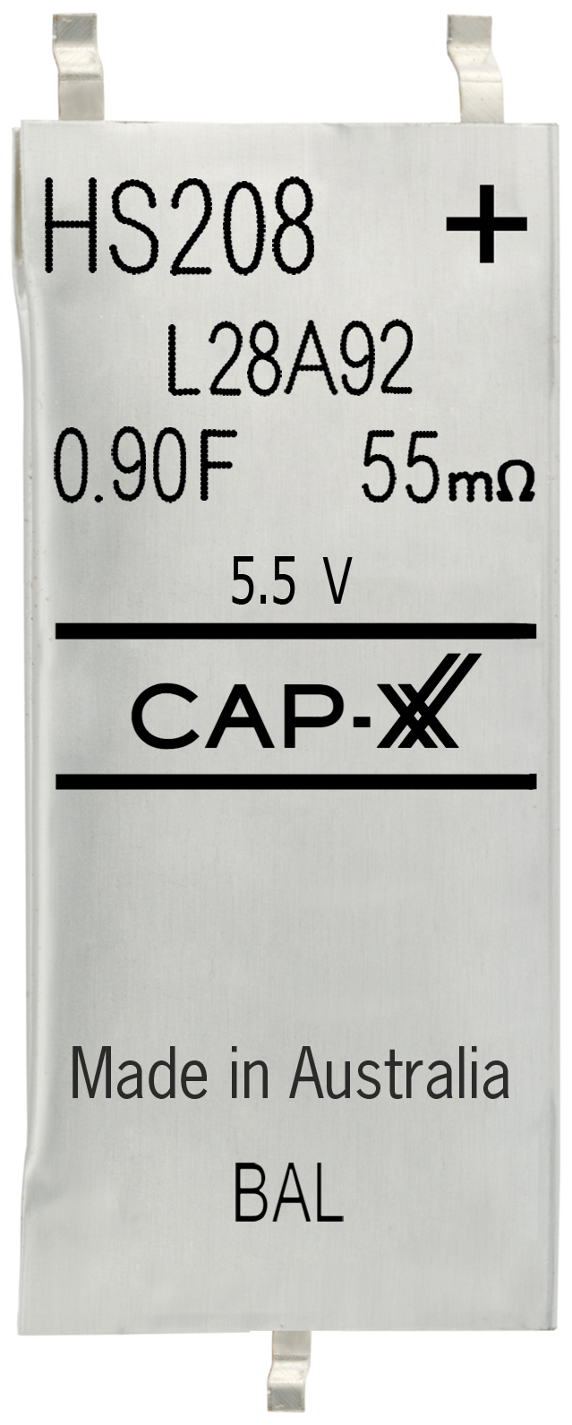 CAP-XX Supercapacitors H-series
