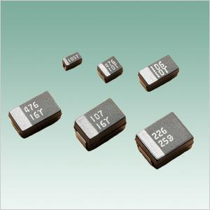 Matsuo Chip Tantalum Capacitor 267 M Series