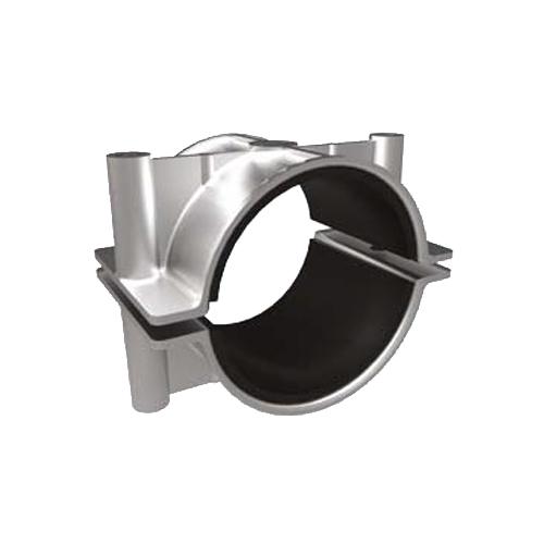 Prysmian BICON Single Way Rubber Lined Two Bolt Cleat 370BA--L Series (Aluminium)