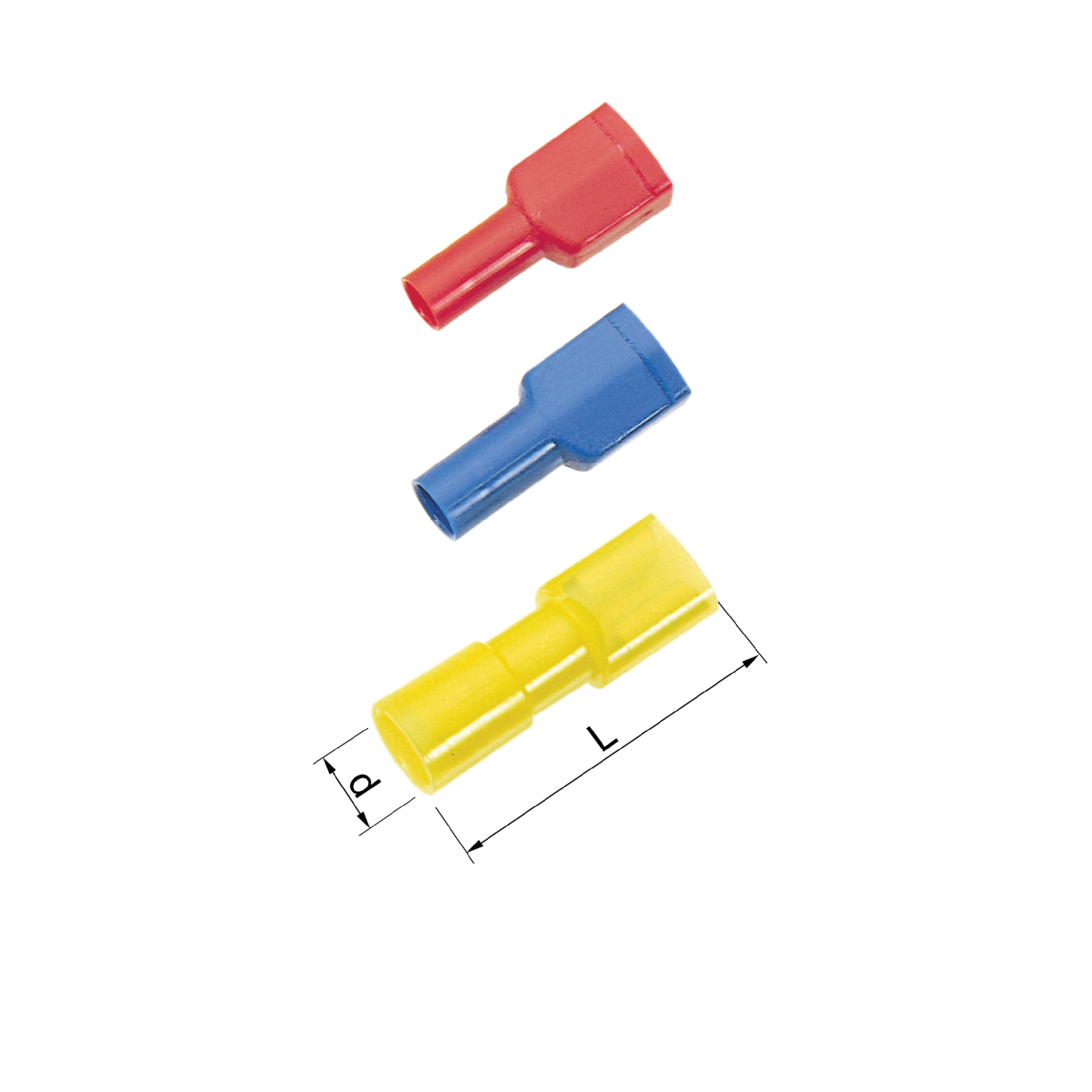 Elpress Pre-Insulated Receptacles (Fully Insulated) - Halogen Free (0.5-6mm²)