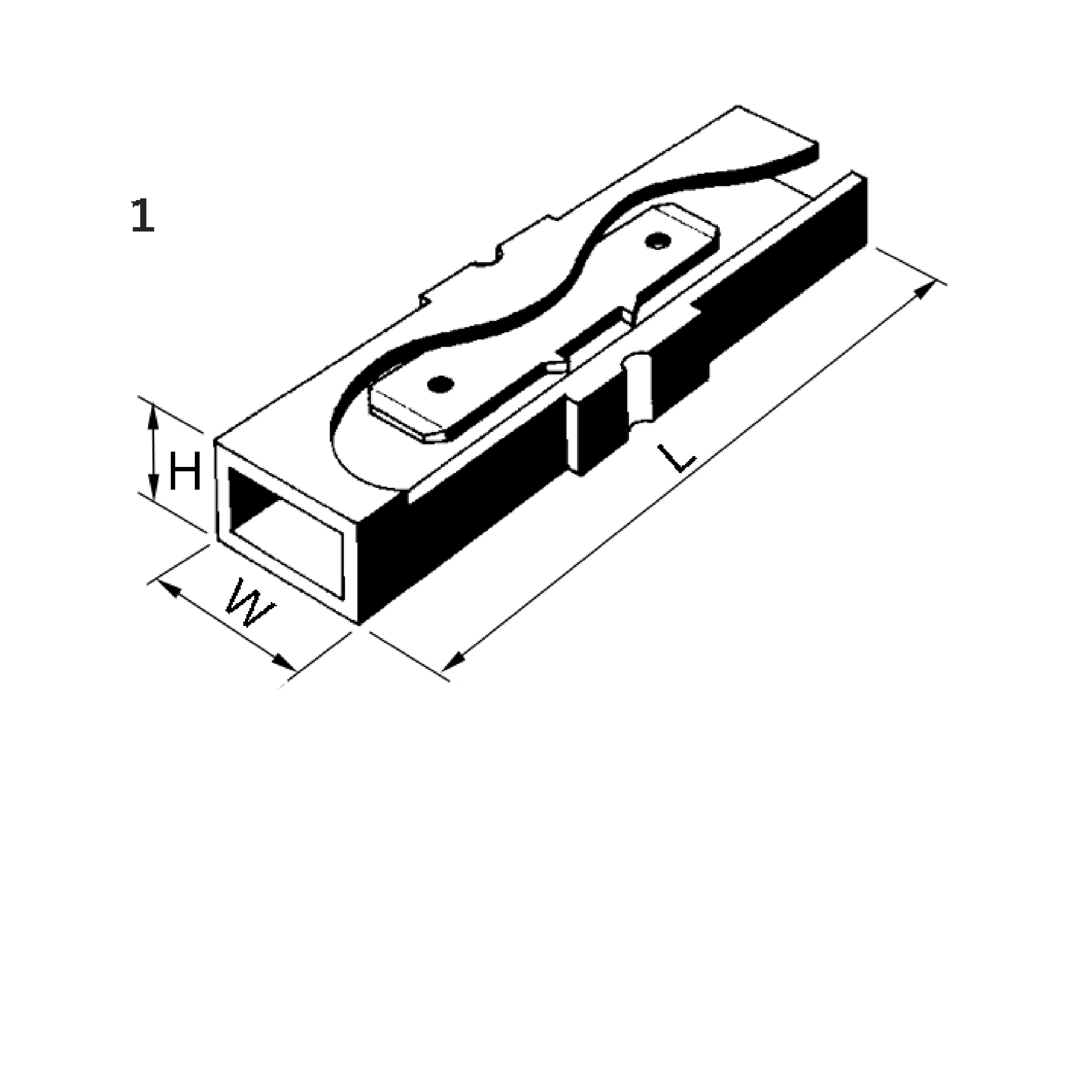 Elpress Un-Insulated Connector Blocks used together with receptacles
