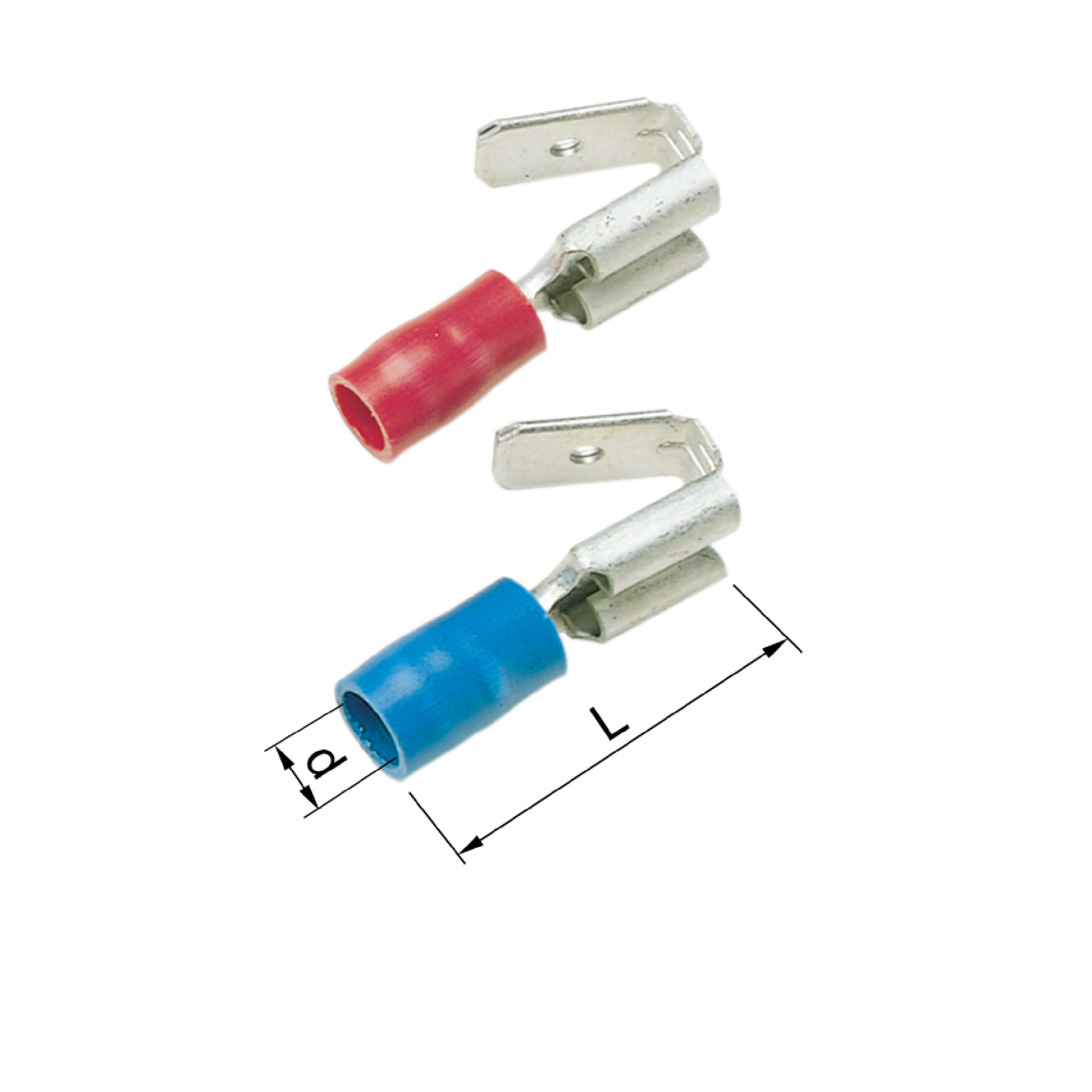 Elpress Pre-Insulated Multiple Tabs - Halogen Free (0.5-2.5mm²). A1507FLSH, A2507FLSH