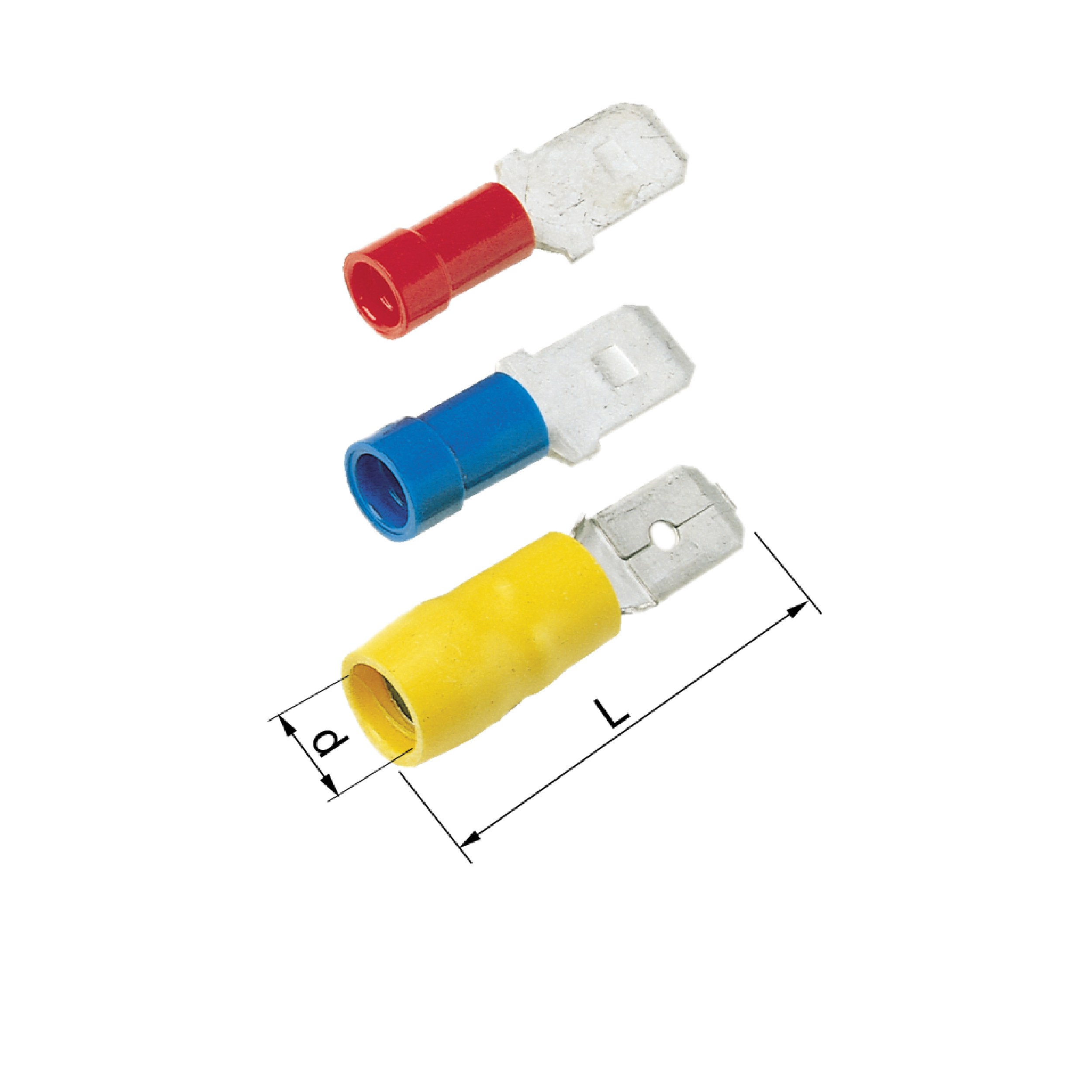 Elpress Pre Insulated Tabs 0.5-6mm² Halogen Free