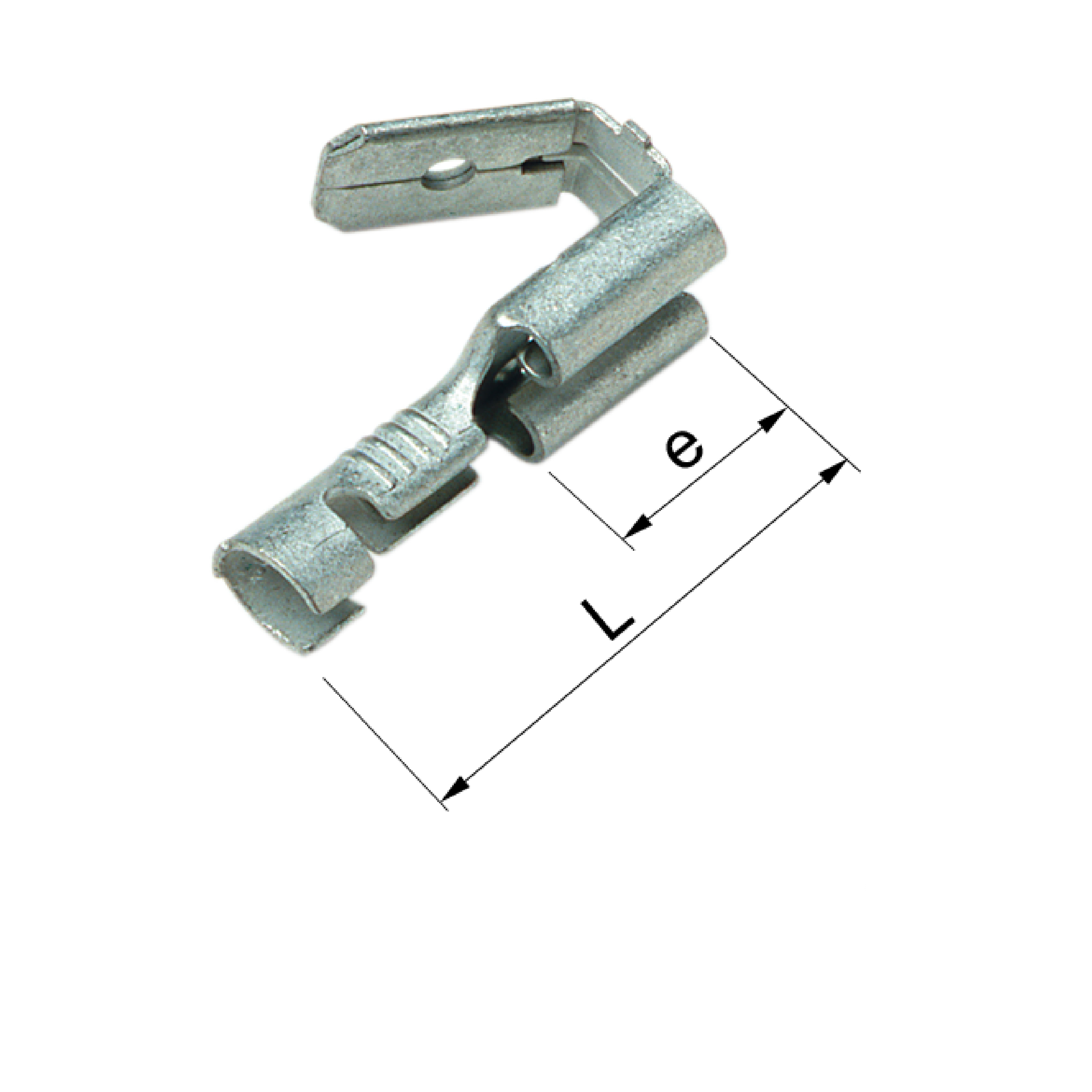 Elpress Un-Insulated Multiple Tabs (Range 0.5-2.5mm²). Part numbers: B1507FLSH, B2507FLSH
