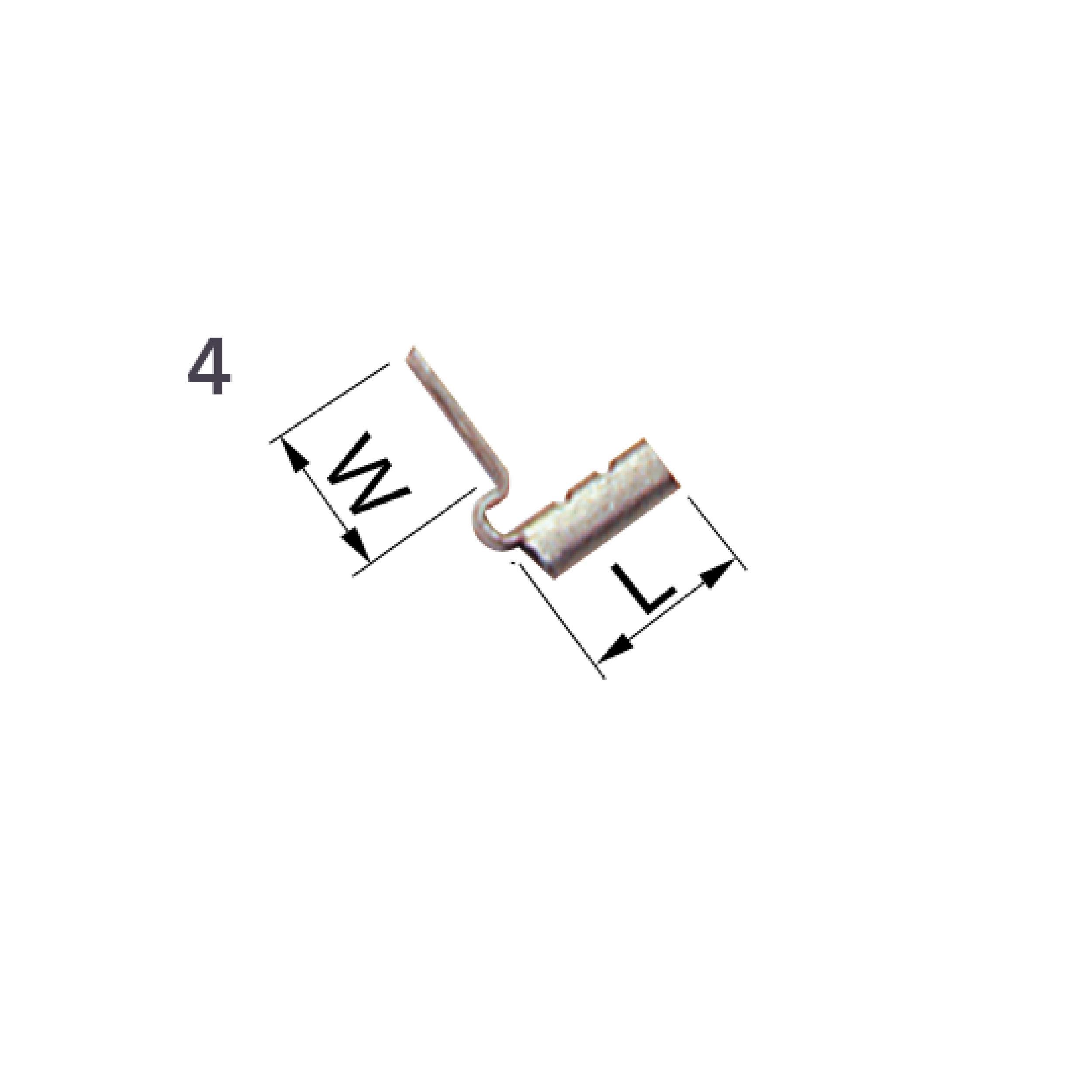 Elpress Un-Insulated Tabs 4. Part Number: B07FLS