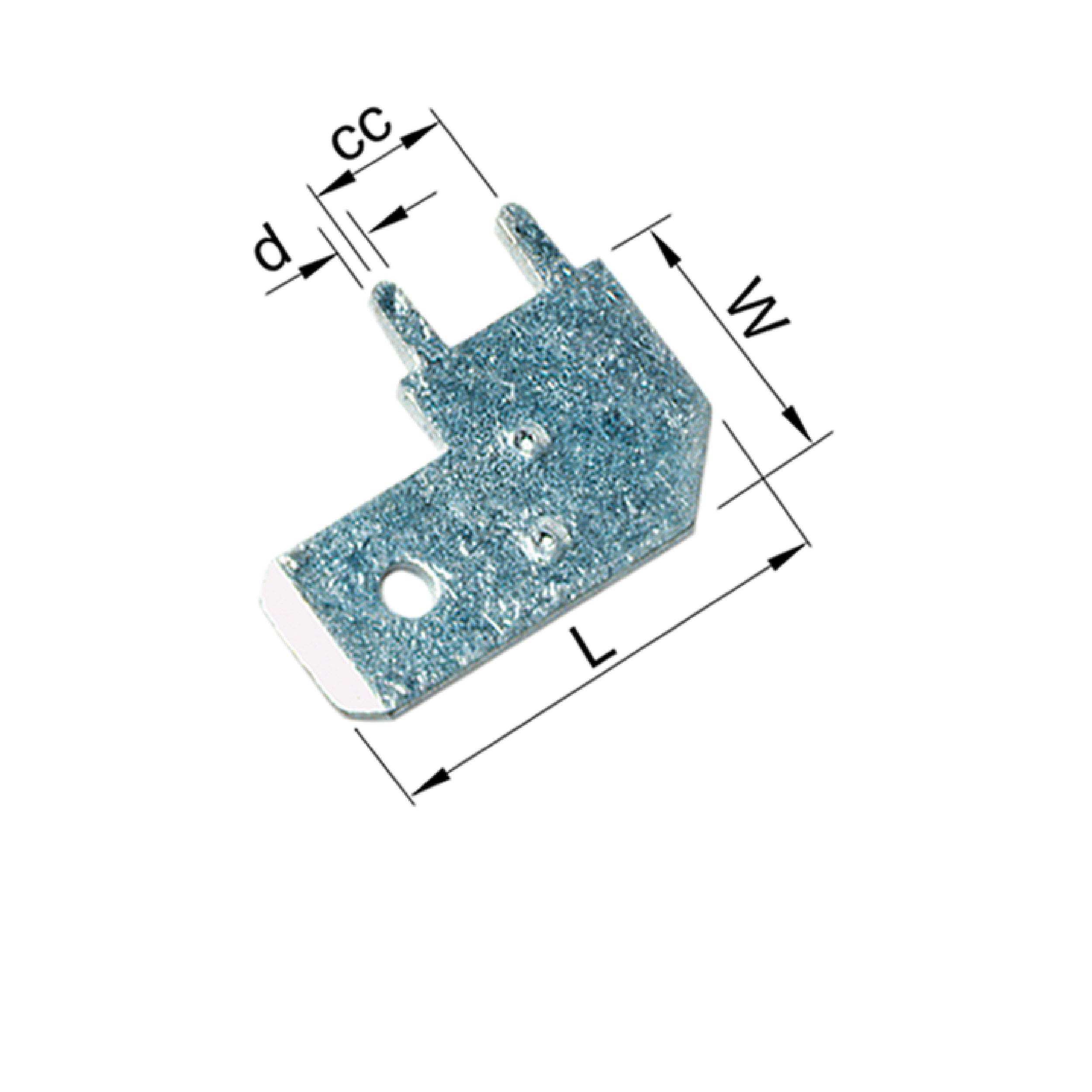 Elpress 17127 Un-Insulated Tabs for soldering