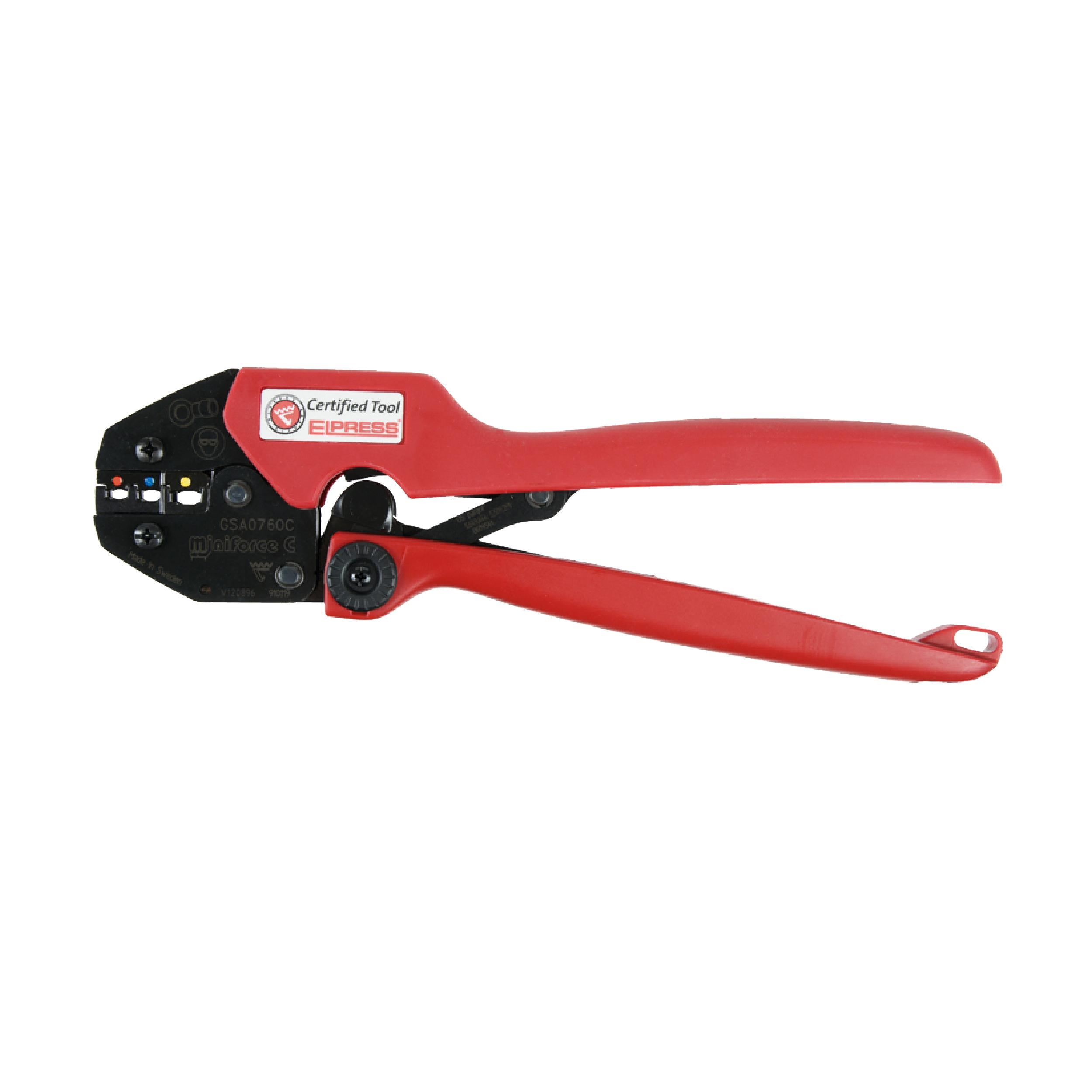 Elpress GSA0760C Miniforce Crimping Tool (0.5-6mm²)