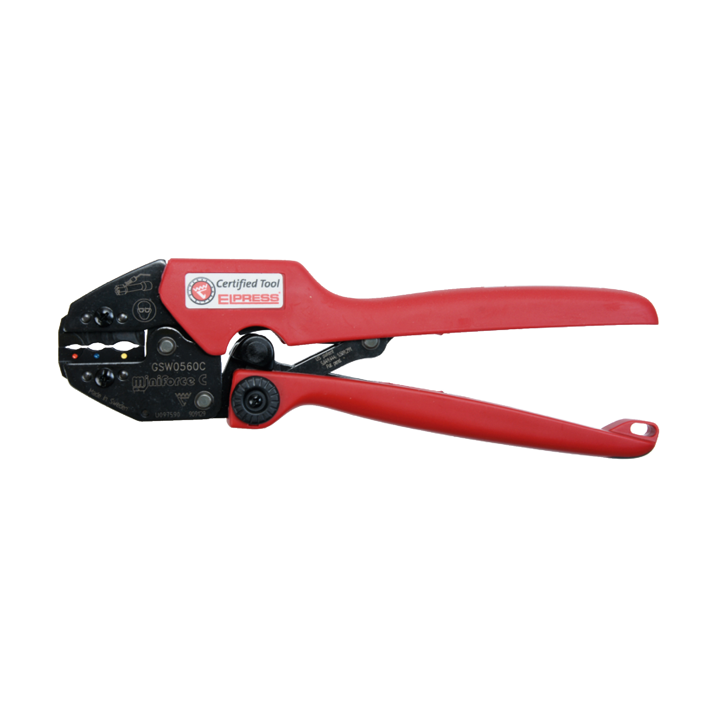 Elpress GSW0560C Miniforce Crimping Tool (0.5-6mm²)