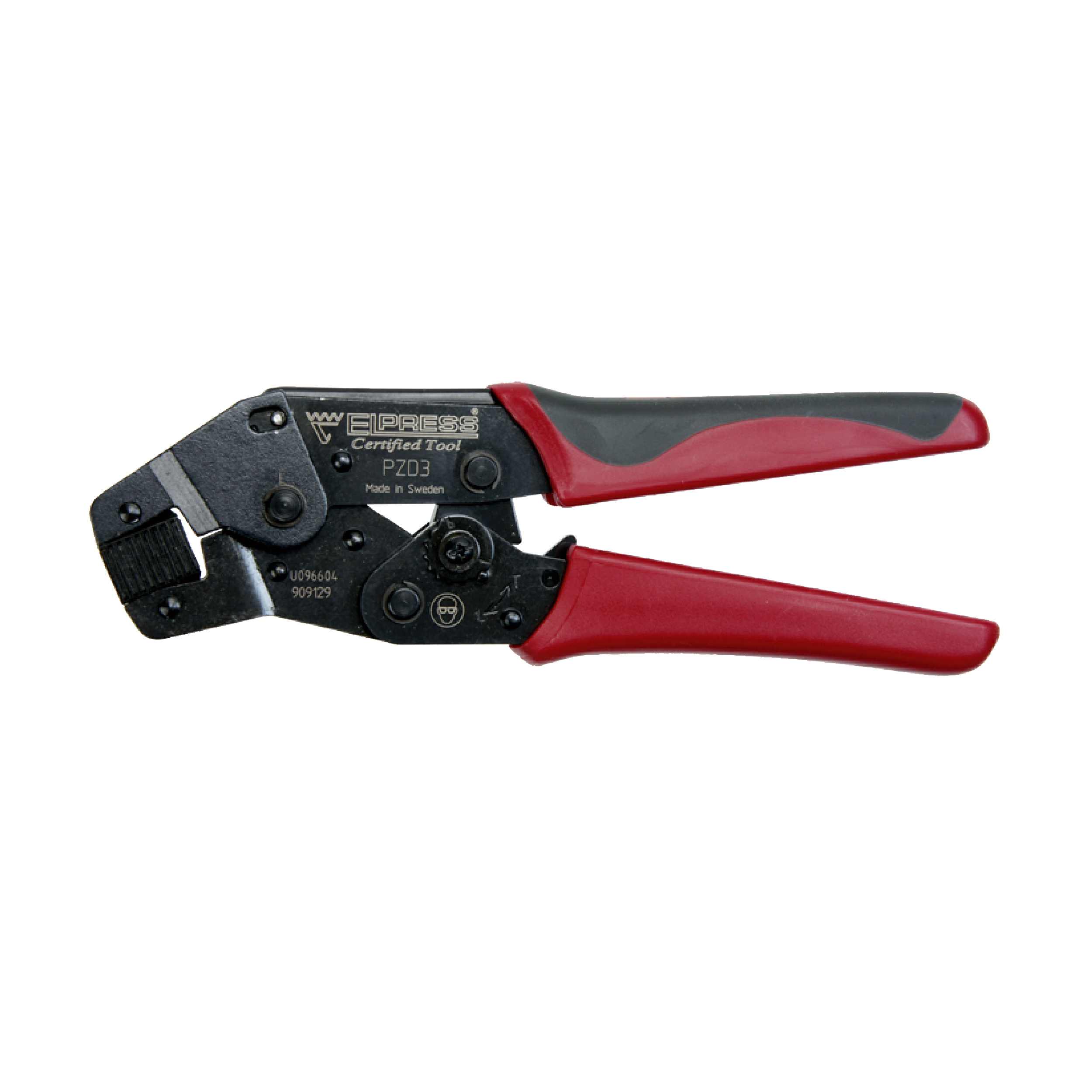 Elpress PZD3 Miniforce Self-Setting Crimping Tool (0.5-6mm²)