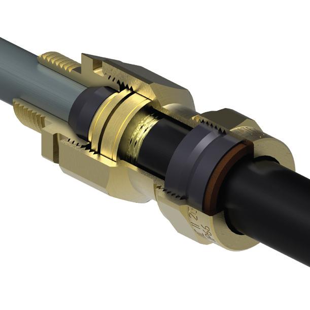 Prysmian-BICON-E1XF (NPT) Ex d IIC / Ex e II Cable Gland 473NP Series
