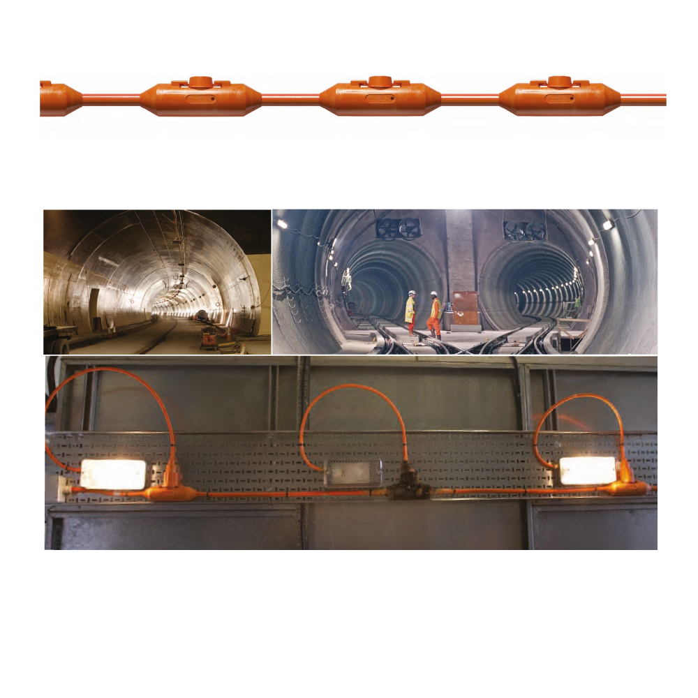 Prysmian Draka Connecta Fire Resistant Tunnel Lighting and Power System
