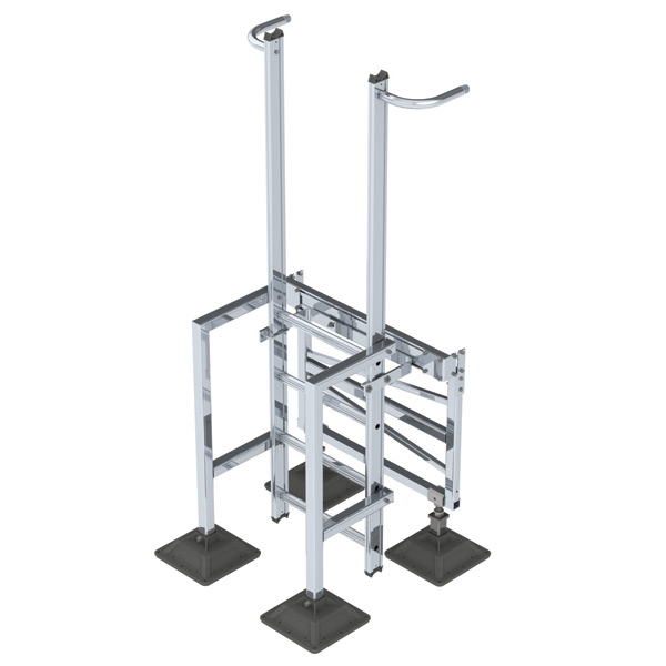 nVent CADDY Pyramid Step Over Ladder, 90°