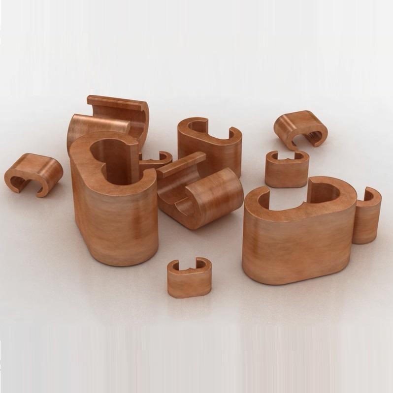 Elpress Copper Branch C-sleeves (6-300mm²)