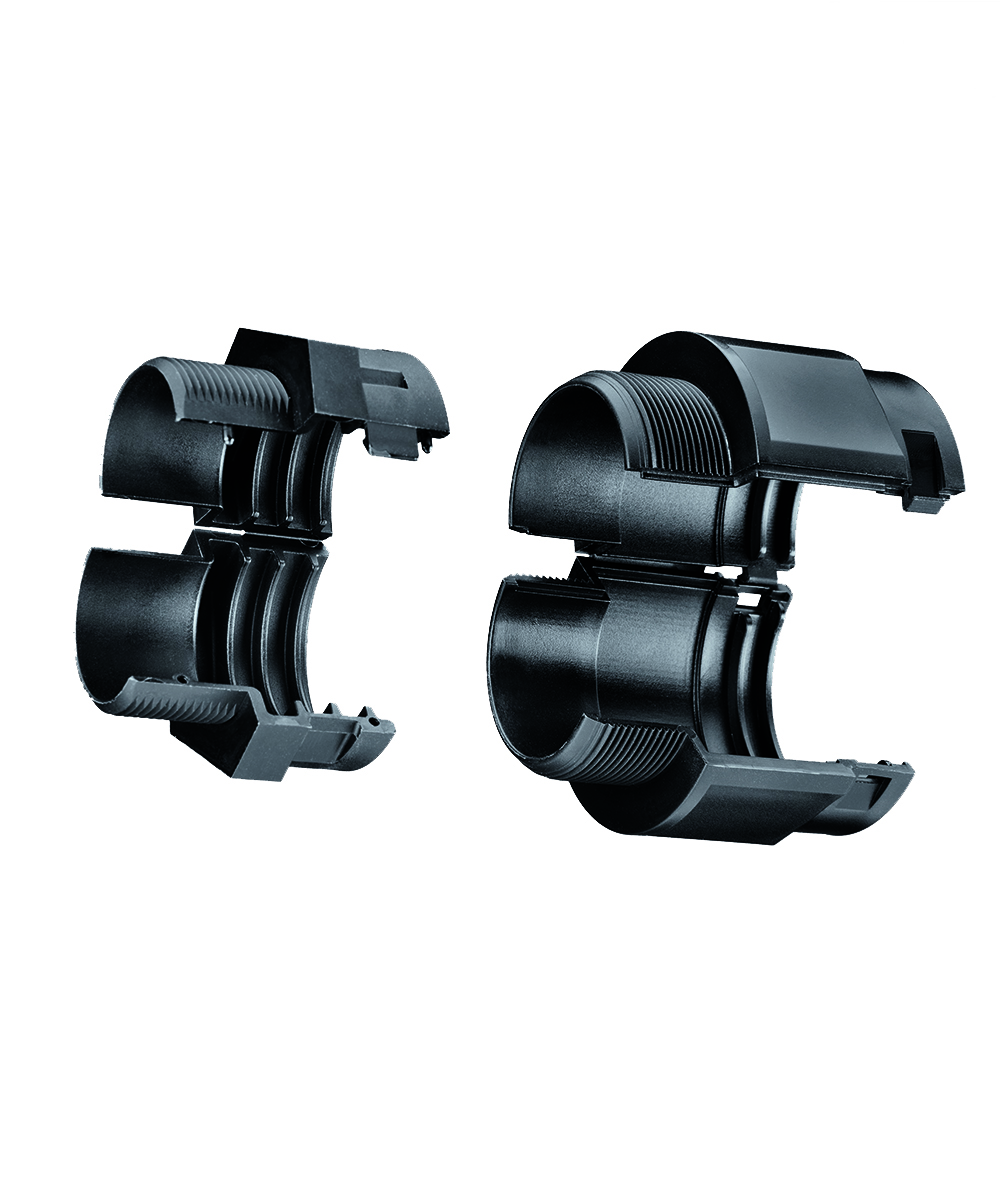 FIPSPLIT Connectors and Accessories for Two-piece Corrugated Conduits