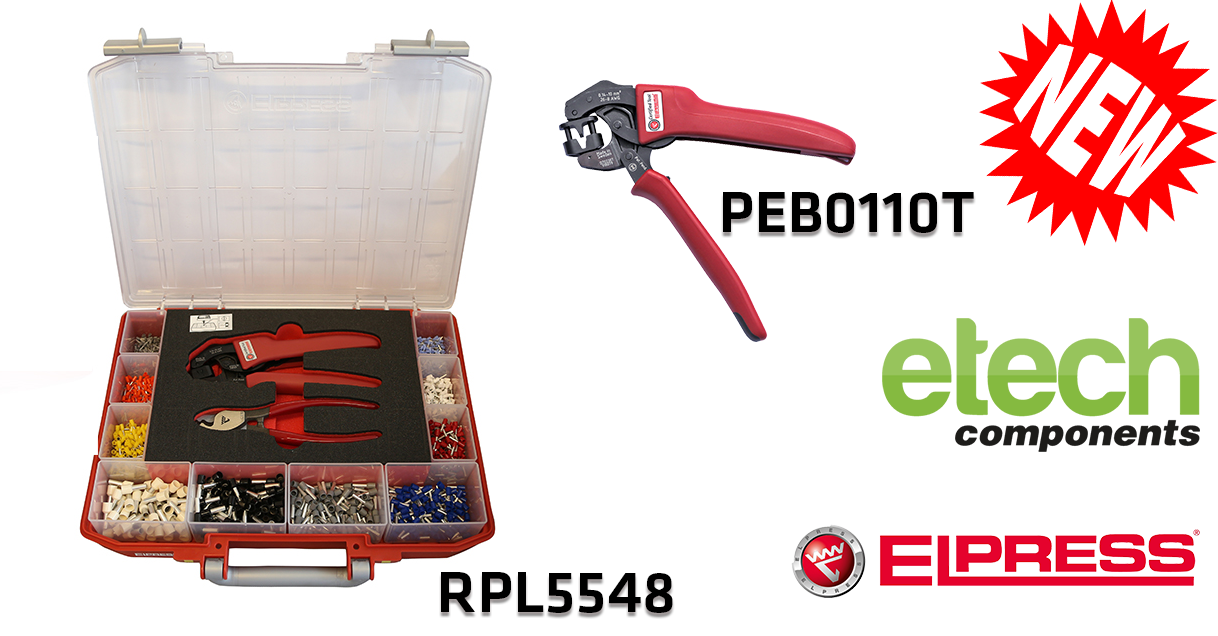 Elpress introduces a New Crimp Tool and Assortment Box for End Terminals
