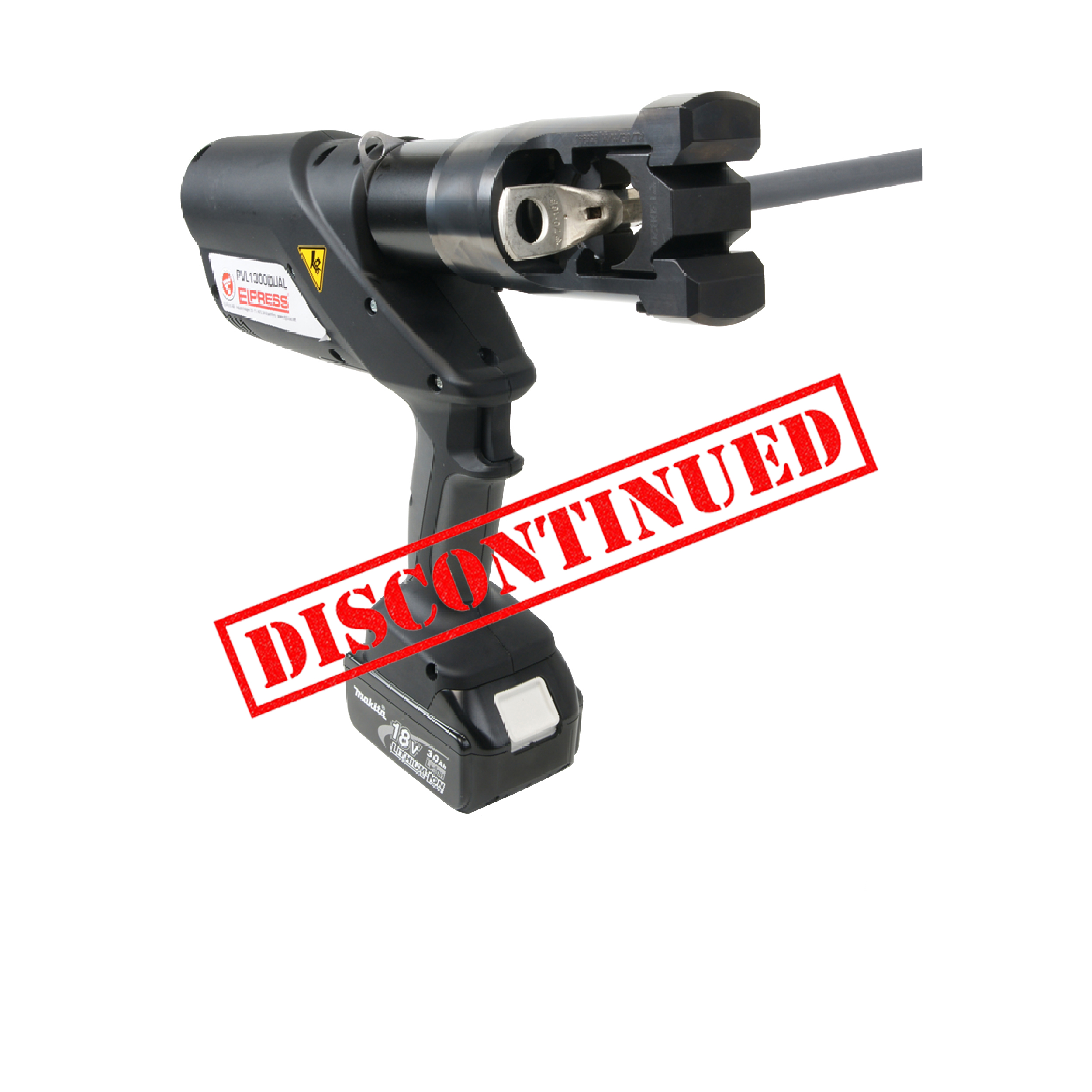 Elpress PVL1300DUAL Crimping Tool (10-300mm²)