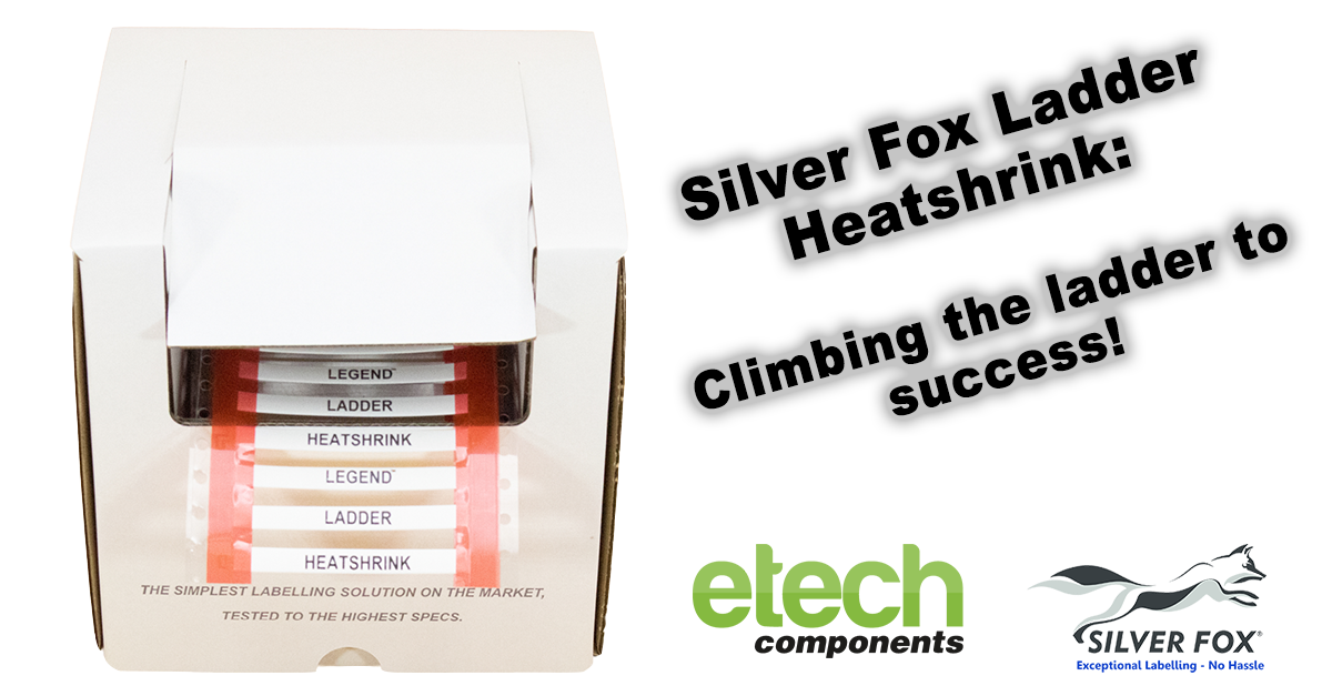 Silver Fox Ladder Heatshrink: Climbing the ladder to success!