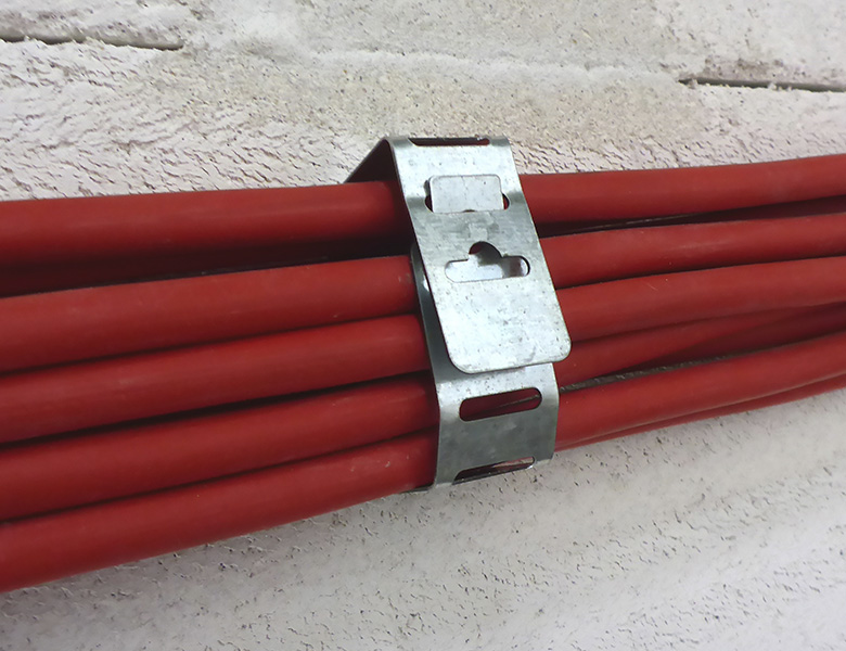D-Line D-Line F-Clips - Safe-D Fire Rated Flexible Cable Supports Application