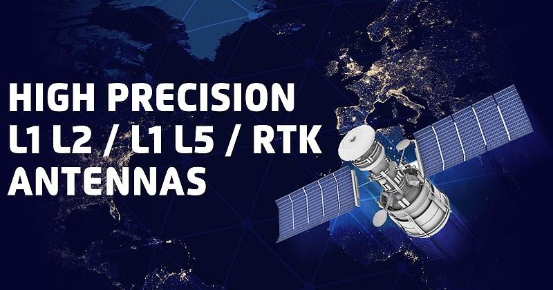 High Precision L1 L2 L5 RTK Antennas - 2J Antennas