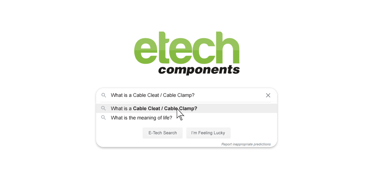 What is a Cable Clamp/ Cleat?