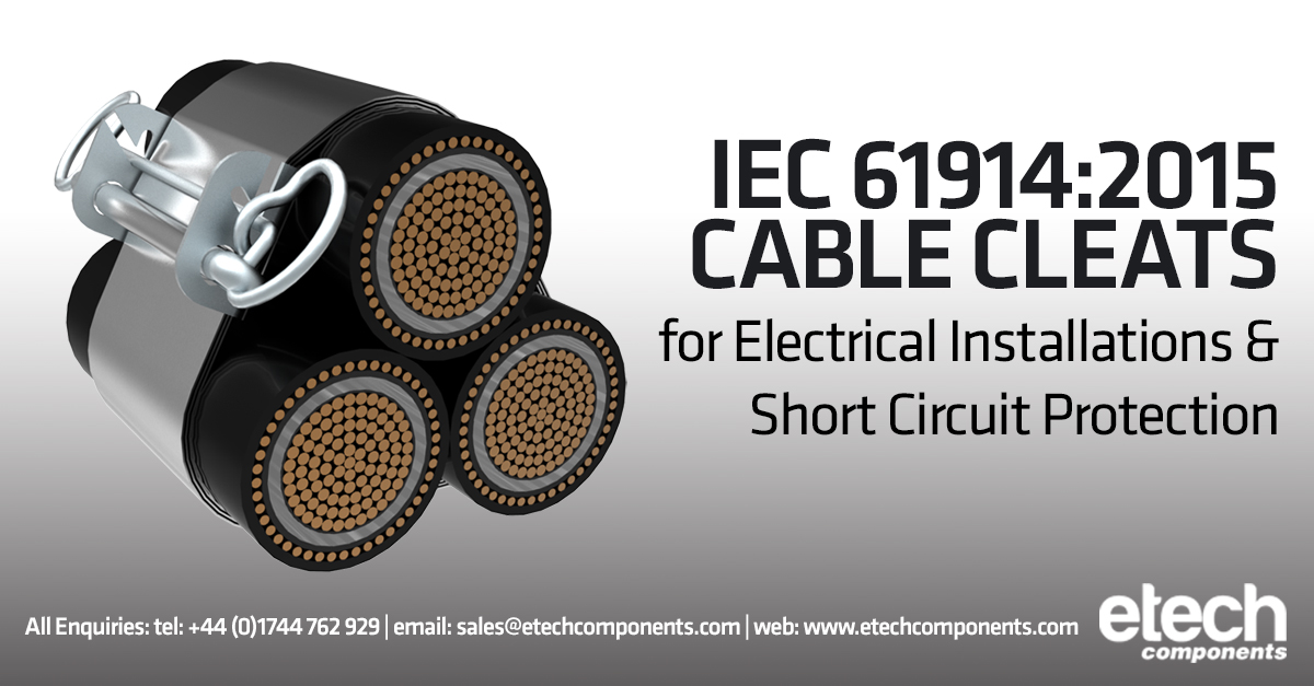 IEC 61914 Cable Cleats For Electrical Installations