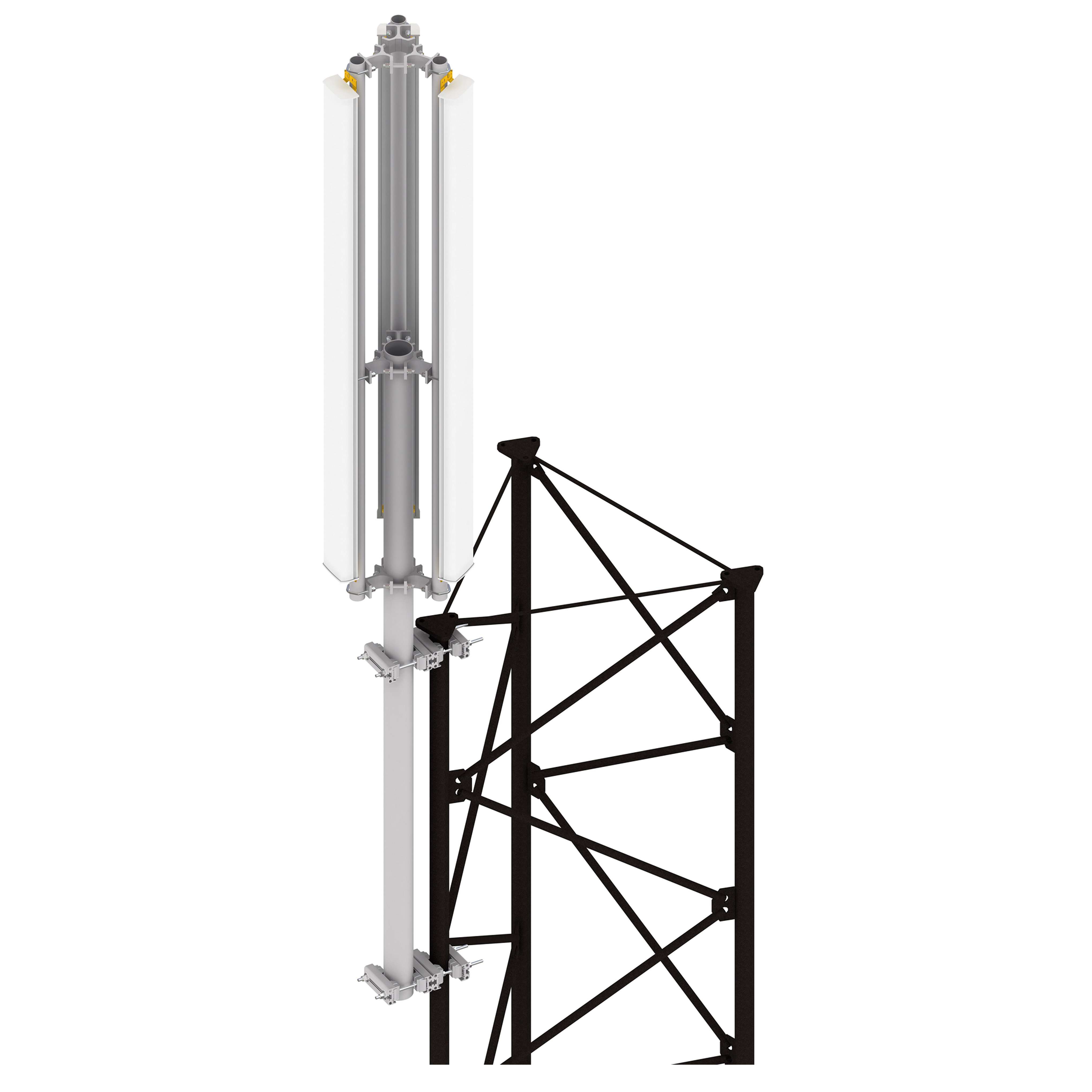 Top Spire Antenna Supports