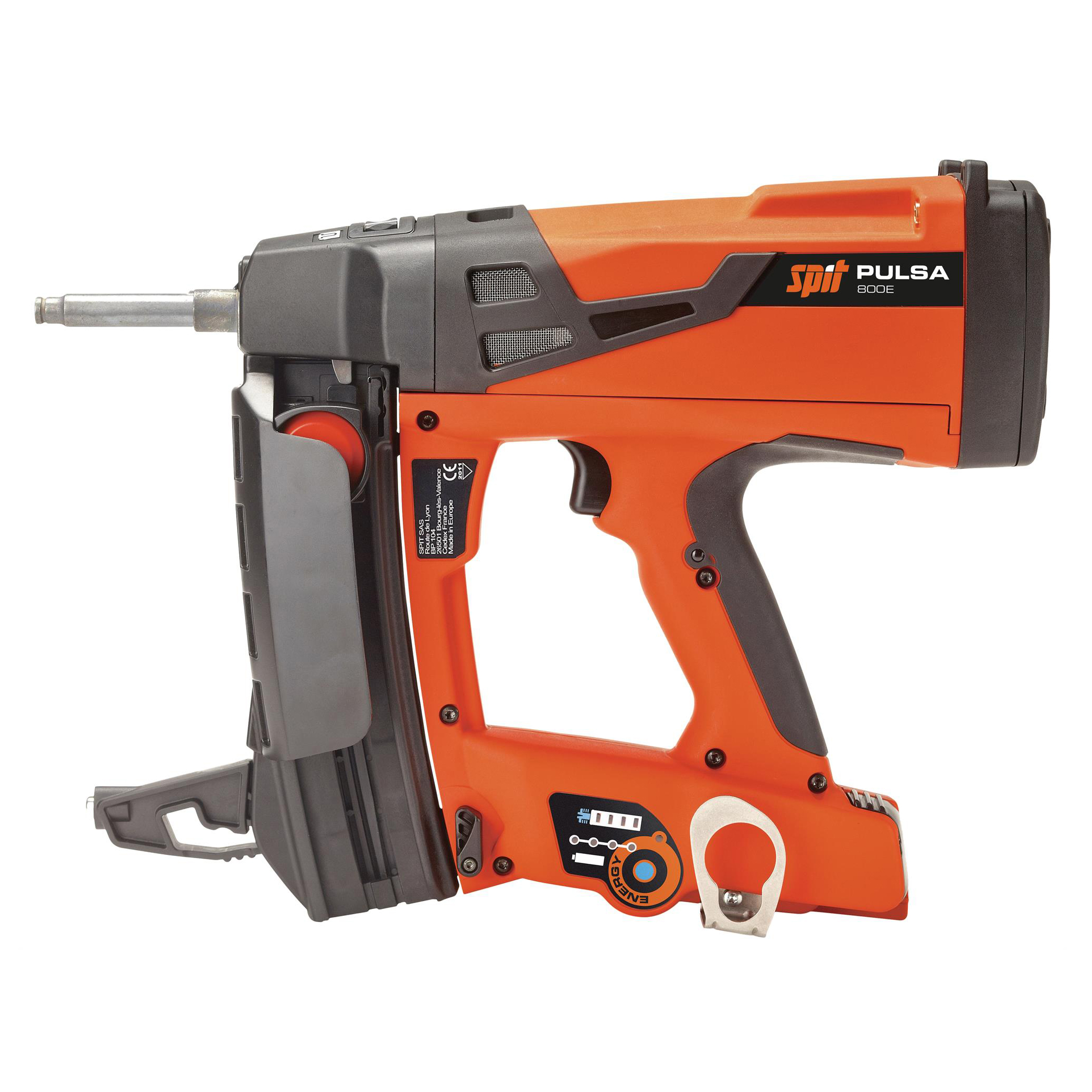 ITW SPIT PULSA 800E CORDLESS GAS NAILER for concrete and steel (018350)
