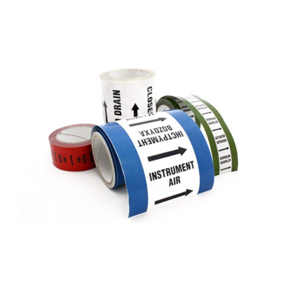 Silver Fox Endurance External Pipe ID Tape (ET/HD/50/25, ET/HD/100/25, ET/HD/150/25)
