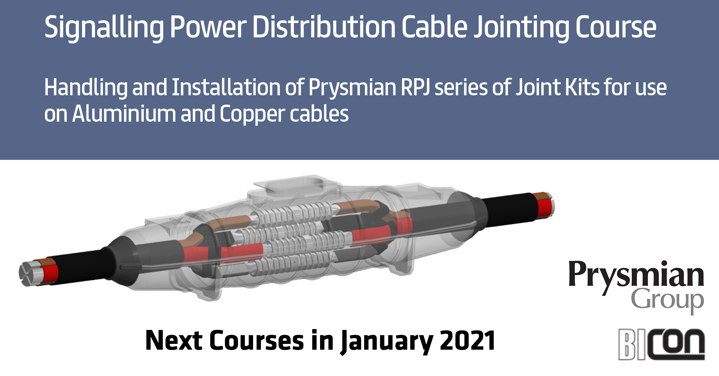 Signalling Power Distribution Cable Jointing Course by Prysmian